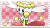 Flabebe Fan Stamp by Skymint-Stamps