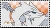 Reshiram Fan Stamp