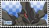 Zekrom Fan Stamp by Skymint-Stamps