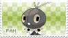 Scatterbug Fan Stamp