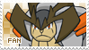 Terrakion Fan Stamp