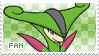 Virizion Fan Stamp