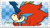 Keldeo Fan Stamp