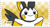 Emolga Fan Stamp by Skymint-Stamps