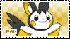 Emolga Fan Stamp by Skymint-Stamps