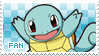 Squirtle Fan Stamp