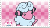 Flaaffy Fan Stamp by Skymint-Stamps