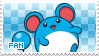 Marill Fan Stamp by Skymint-Stamps