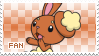 Buneary Fan Stamp by Skymint-Stamps