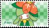 Lilligant Fan Stamp