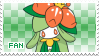 Lilligant Fan Stamp