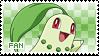Chikorita Fan Stamp by Skymint-Stamps