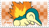 Cyndaquil Fan Stamp by Skymint-Stamps