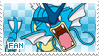 Gyarados Fan Stamp by Skymint-Stamps