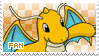 Dragonite Fan Stamp by Skymint-Stamps