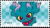 Misdreavus Fan Stamp by Skymint-Stamps
