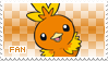 Torchic Fan Stamp