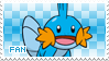 Mudkip Fan Stamp by Skymint-Stamps