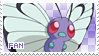 Butterfree Fan Stamp by Skymint-Stamps