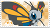 Beautifly Fan Stamp by Skymint-Stamps