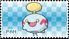 Chimecho Fan Stamp
