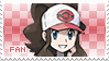 Hilda Fan Stamp by Skymint-Stamps