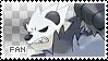 Pangoro Fan Stamp