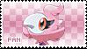 Spritzee Fan Stamp