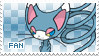 Glameow Fan Stamp