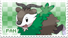 Skiddo Fan Stamp