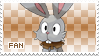 Bunnelby Fan Stamp by Skymint-Stamps