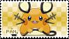 Dedenne Fan Stamp by Skymint-Stamps