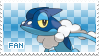 Frogadier Fan Stamp by Skymint-Stamps
