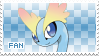 Amaura Fan Stamp