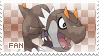 Tyrunt Fan Stamp by Skymint-Stamps