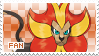 Pyroar Fan Stamp (Male) by Skymint-Stamps