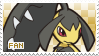 Mawile Fan Stamp by Skymint-Stamps