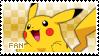 Pikachu Fan Stamp by Skymint-Stamps