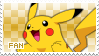 Pikachu Fan Stamp by Skymint-Stamps