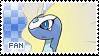 Aurorus Fan Stamp
