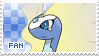 Aurorus Fan Stamp by Skymint-Stamps