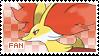 Delphox Fan Stamp by Skymint-Stamps