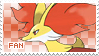 Delphox Fan Stamp by Skymint-Stamps