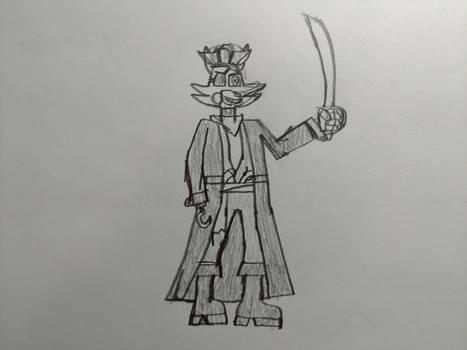 Captain Foxy Sparrow