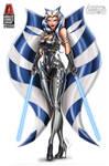 White Widow #5 Ahsoka Tano tribute cover