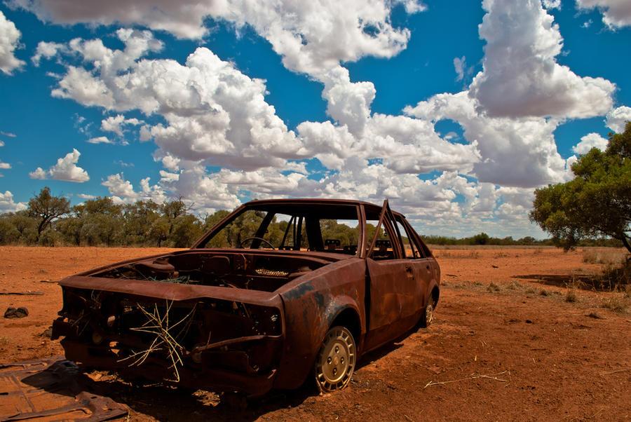Wrecks in the Desert: Part 2 by resbian2002