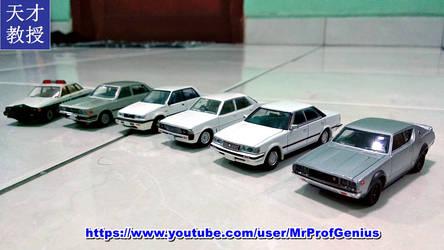 My Japanese 90s Style Diecast Cars by MrProfGenius by MrProfGenius