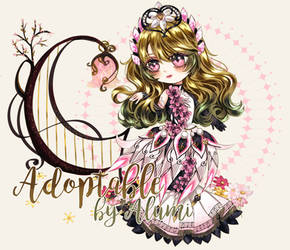 [ CLOSED ] Adoptable : Flora Witch by Hodurno