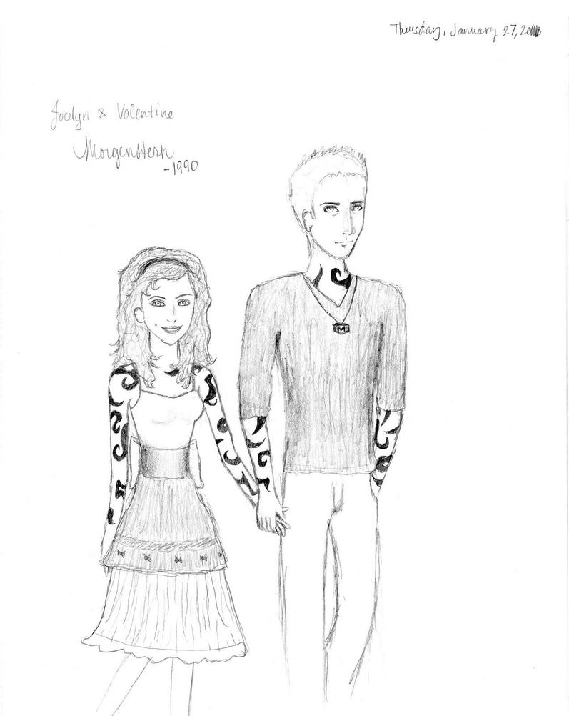 Jocelyn And Valentine Morgenstern By Mirasque ...