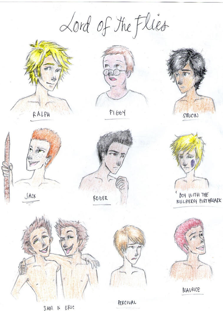 lord of the flies characters Lord of the flies characters, character relationships - ralph, character  relationships - jack, character relationships - piggy, character relationships  roger,.